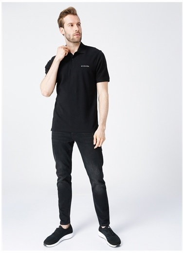 Columbia Columbia Polo T-Shirt Siyah